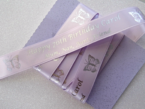 Personalised Birthday Ribbon